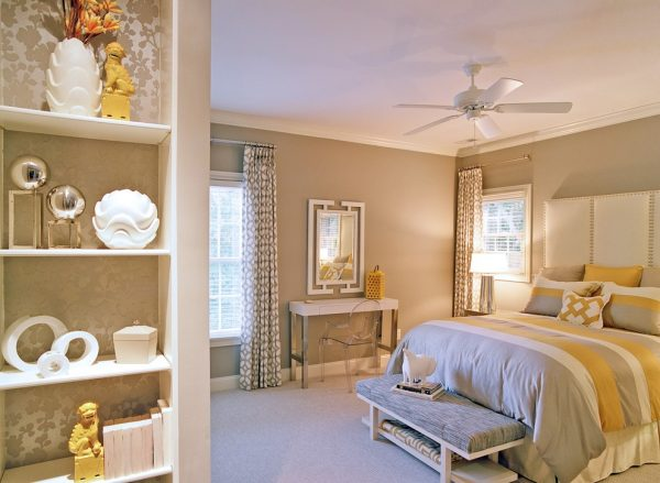bedroom decorating ideas and designs Remodels Photos Jessica Dauray Interiors Elements Of Style Greensboro Carolina eclectic-bedroom-001
