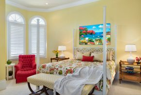 Bedroom Decorating and Designs by Jinx McDonald Interior Designs - Naples, Florida, United States