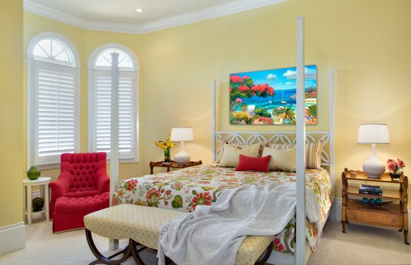 bedroom decorating ideas and designs Remodels Photos Jinx McDonald Interior Designs Naples Florida United States transitional-bedroom-005