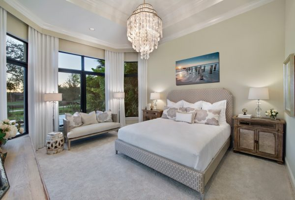 bedroom decorating ideas and designs Remodels Photos Jinx McDonald Interior Designs Naples Florida United States transitional-bedroom-008