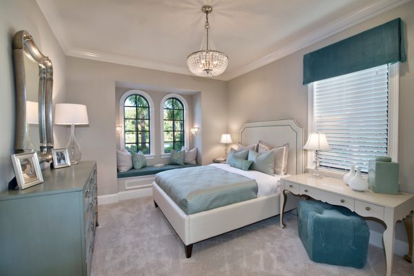 bedroom decorating ideas and designs Remodels Photos Jinx McDonald Interior Designs Naples Florida United States transitional-bedroom-010