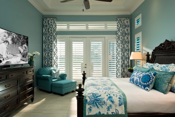 bedroom decorating ideas and designs Remodels Photos Jinx McDonald Interior Designs Naples Florida United States transitional-bedroom-014