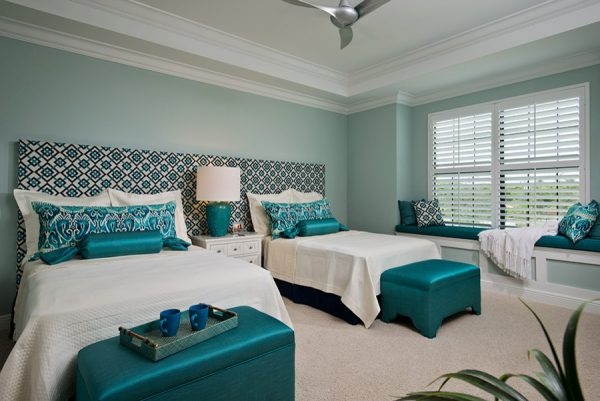 bedroom decorating ideas and designs Remodels Photos Jinx McDonald Interior Designs Naples Florida United States transitional-bedroom- (1)