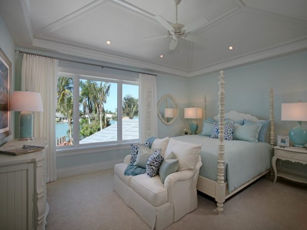 bedroom decorating ideas and designs Remodels Photos Jinx McDonald Interior Designs Naples Florida United States tropical-bedroom-001