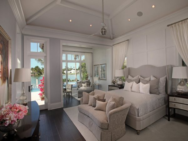 bedroom decorating ideas and designs Remodels Photos Jinx McDonald Interior Designs Naples Florida United States tropical-bedroom-003