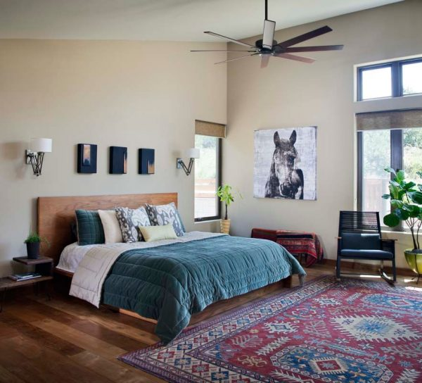 bedroom decorating ideas and designs Remodels Photos KW Designs Solana Beach California United States eclectic-bedroom