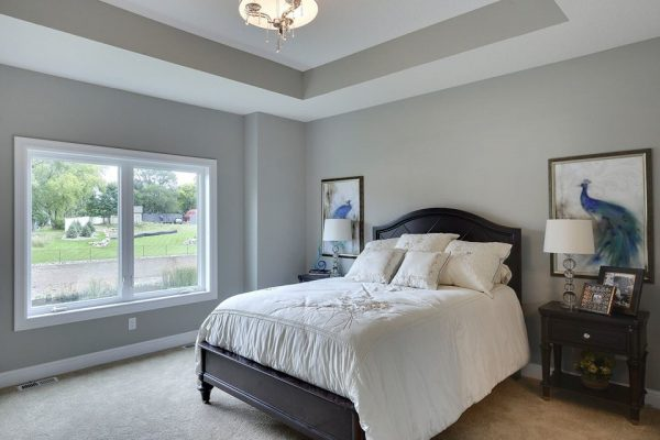 bedroom decorating ideas and designs Remodels Photos Kathie Karsnia Interiors Minneapolis Minnesota United States transitional-bedroom-001
