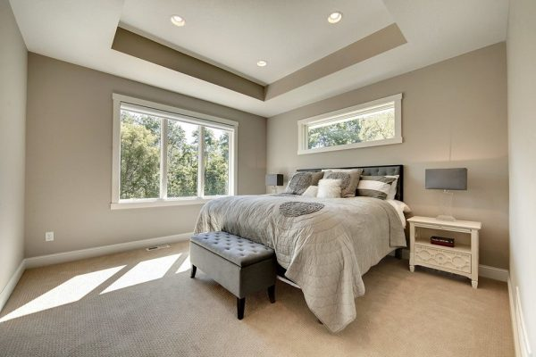 bedroom decorating ideas and designs Remodels Photos Kathie Karsnia Interiors Minneapolis Minnesota United States transitional-bedroom-002