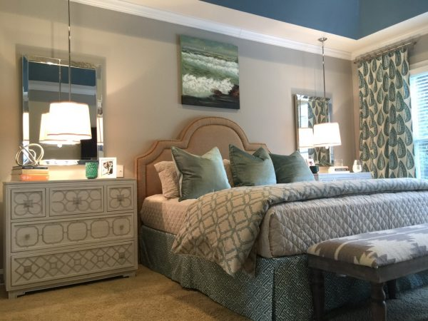 bedroom decorating ideas and designs Remodels Photos Kathryn Lilly Interiors Davidson North Carolina United States contemporary-001