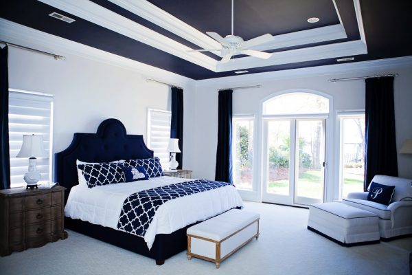 bedroom decorating ideas and designs Remodels Photos Kathryn Lilly Interiors Davidson North Carolina United States contemporary-002