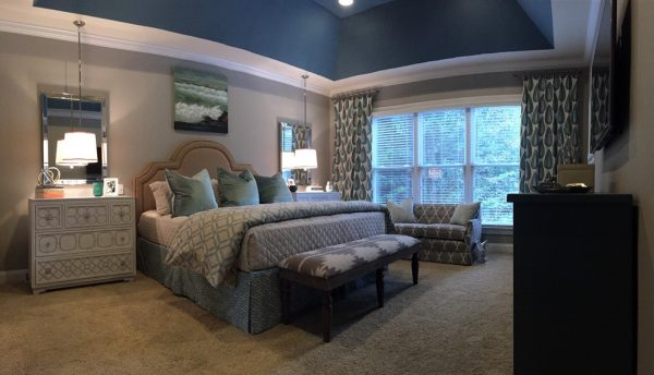 bedroom decorating ideas and designs Remodels Photos Kathryn Lilly Interiors Davidson North Carolina United States contemporary-bedroom-001