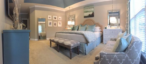 bedroom decorating ideas and designs Remodels Photos Kathryn Lilly Interiors Davidson North Carolina United States contemporary-bedroom