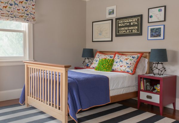 bedroom decorating ideas and designs Remodels Photos Kelly Rogers Interiors Newton Massachusetts United States eclectic-kids