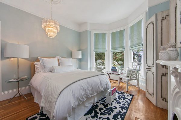 bedroom decorating ideas and designs Remodels Photos Kendall Wilkinson Design San Francisco California victorian-bedroom