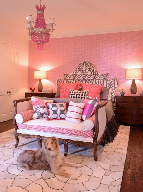bedroom decorating ideas and designs Remodels Photos Kim Armstrong Dallas Texas United States traditional-bedroom-003