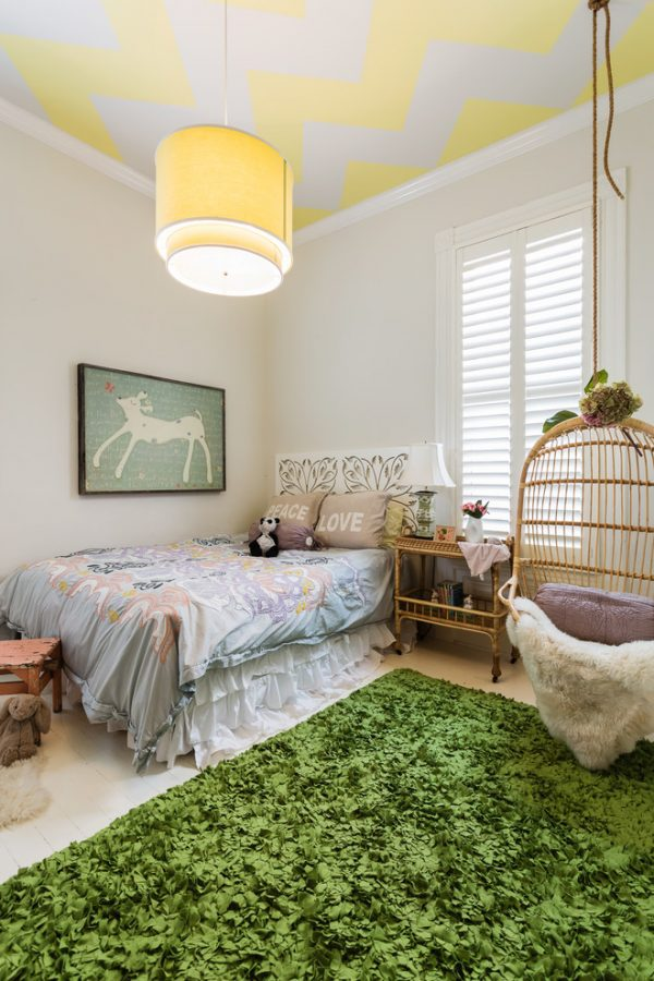 bedroom decorating ideas and designs Remodels Photos Kress Jack At Home Mill Valley California United States eclectic-kids