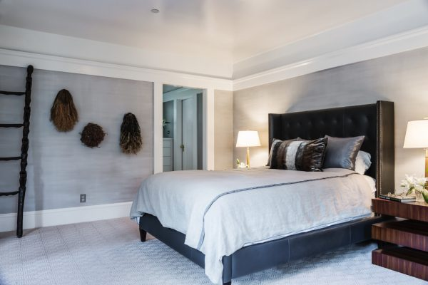 bedroom decorating ideas and designs Remodels Photos Kress Jack At Home Mill Valley California United States transitional-bedroom