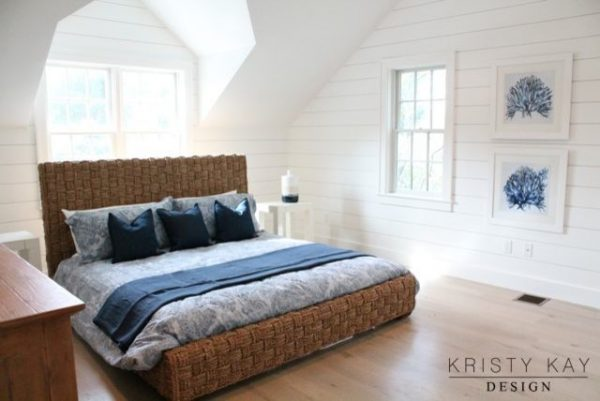 bedroom decorating ideas and designs Remodels Photos Kristy Kay Brookline Massachusetts United States beach-style-002