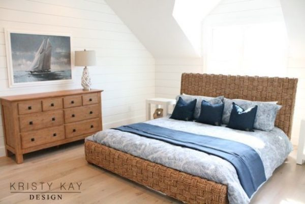 bedroom decorating ideas and designs Remodels Photos Kristy Kay Brookline Massachusetts United States beach-style-003