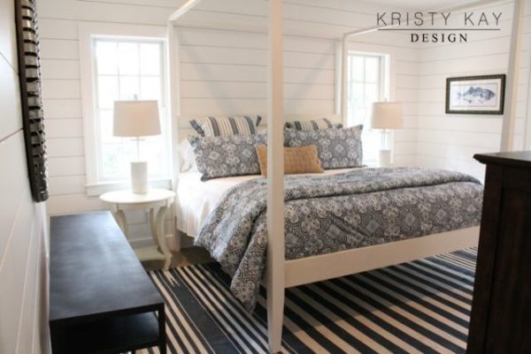 bedroom decorating ideas and designs Remodels Photos Kristy Kay Brookline Massachusetts United States beach-style