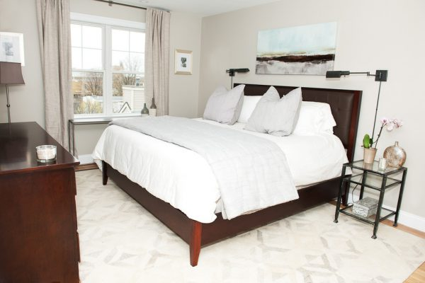 bedroom decorating ideas and designs Remodels Photos Kristy Kay Brookline Massachusetts United States modern-bedroom