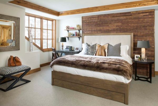 bedroom decorating ideas and designs Remodels Photos LKW Design Associates Edwards Colorado United States rustic-bedroom