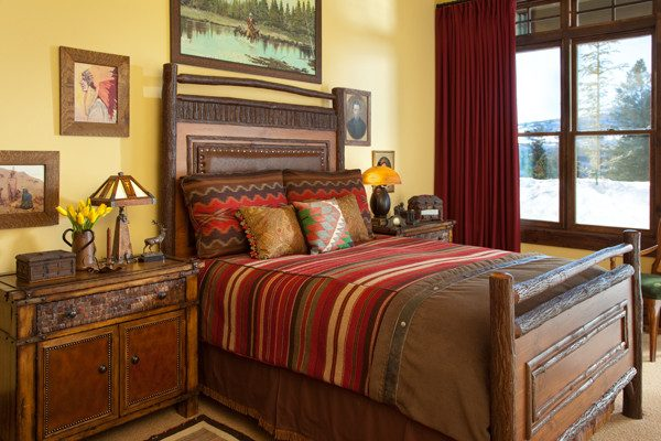 bedroom decorating ideas and designs Remodels Photos Laura Fedro Interiors, Inc. Bozeman Montana United States bedroom
