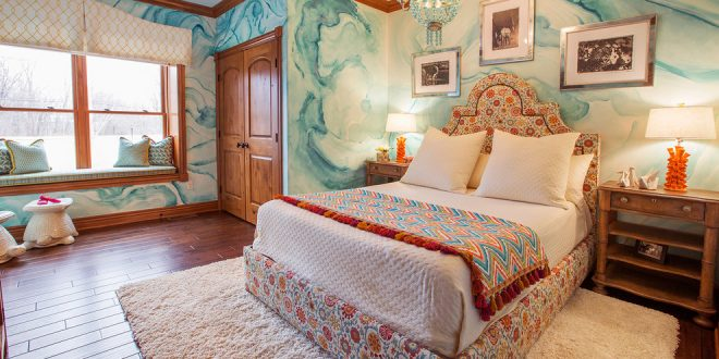 bedroom decorating ideas and designs Remodels Photos Lee Meier Interiors Westlake Ohio United States eclectic-kids-001