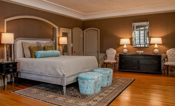 bedroom decorating ideas and designs Remodels Photos Leslie Hayes Interiors Haverford Pennsylvania United States transitional