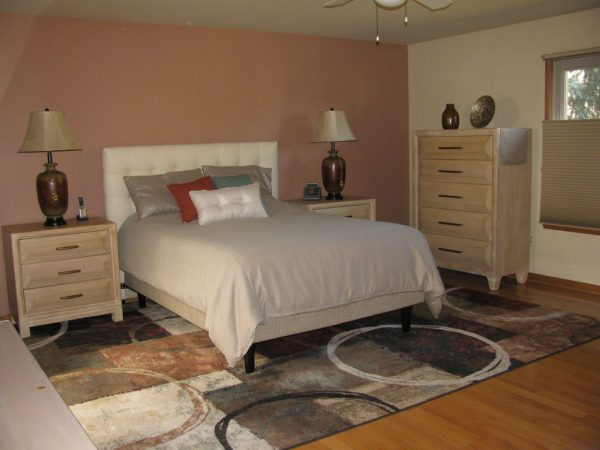 bedroom decorating ideas and designs Remodels Photos Linda Principe Interiors LLC Monroe New Jersey United States contemporary-bedroom-001