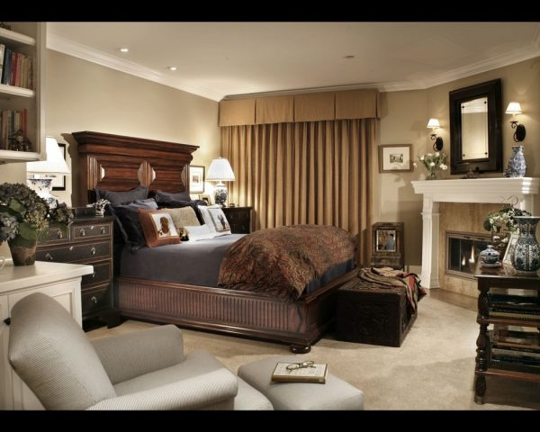 bedroom decorating ideas and designs Remodels Photos Linda Rosen Interiors Los Angeles California United States traditional-bedroom-003