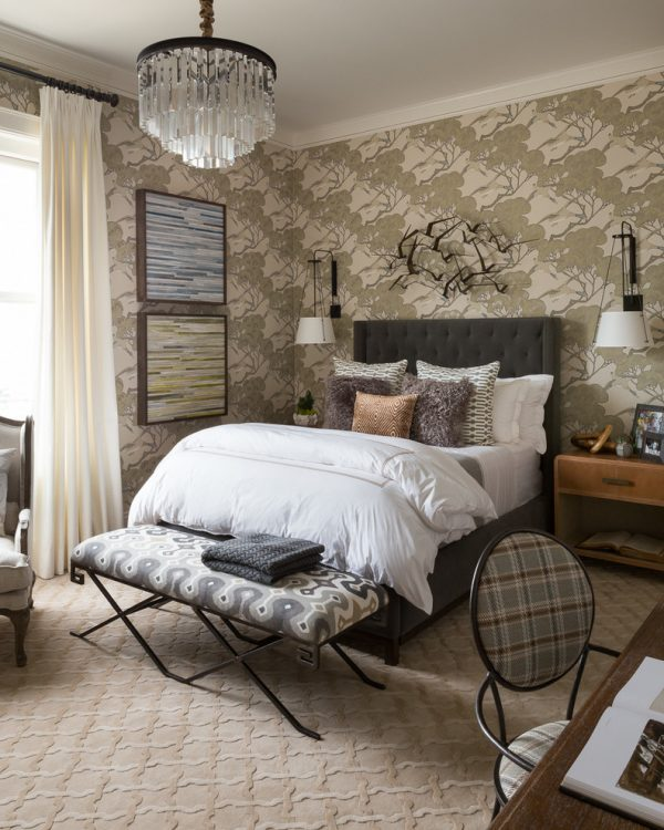 bedroom decorating ideas and designs Remodels Photos Lisa Bakamis Interior Design Fairfax California United States transitional-bedroom-001