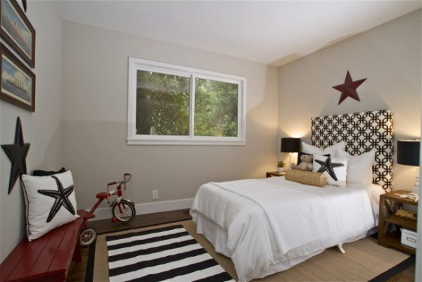 bedroom decorating ideas and designs Remodels Photos Lisa Benbow - Garnish Designs Tiburon California United States contemporary-kids