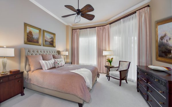 bedroom decorating ideas and designs Remodels Photos Little Palm Design Group Naples Florida United States traditional-bedroom