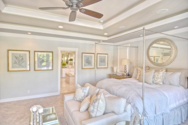 bedroom decorating ideas and designs Remodels Photos Maison Luxe Hermosa Beach California United States beach-style-bedroom-001