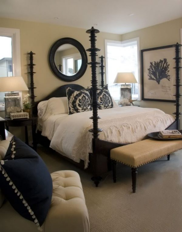 bedroom decorating ideas and designs Remodels Photos Maison Luxe Hermosa Beach California United States beach-style-bedroom