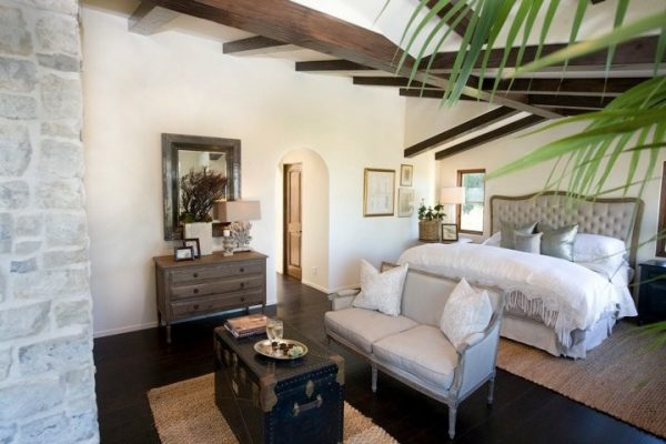 bedroom decorating ideas and designs Remodels Photos Maison Luxe Hermosa Beach California United States mediterranean-bedroom-002