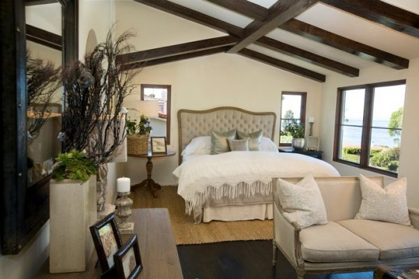 bedroom decorating ideas and designs Remodels Photos Maison Luxe Hermosa Beach California United States mediterranean-bedroom