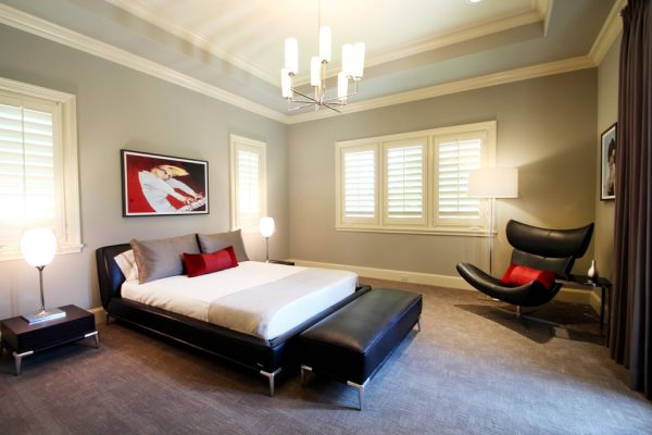 bedroom decorating ideas and designs Remodels Photos Marie Flanigan Interiors Houston Texas United States contemporary-bedroom-002
