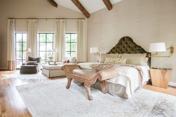 bedroom decorating ideas and designs Remodels Photos Marie Flanigan Interiors Houston Texas United States eclectic-bedroom