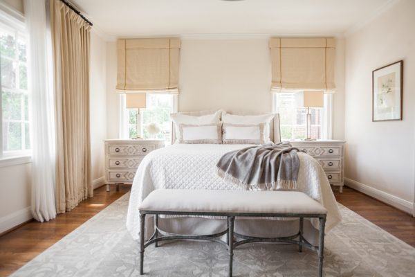 bedroom decorating ideas and designs Remodels Photos Marie Flanigan Interiors Houston Texas United States transitional-bedroom
