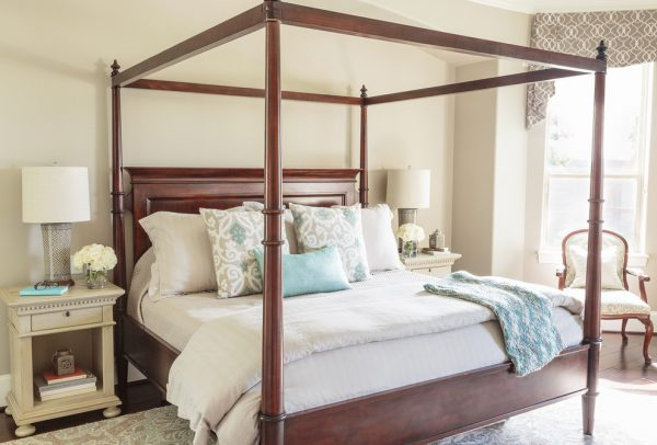 bedroom decorating ideas and designs Remodels Photos Marker Girl Home Houston Texas United States mediterranean-bedroom