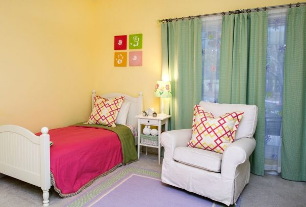 bedroom decorating ideas and designs Remodels Photos Melanie King Designs The Woodlands Texas United States contemporary-kids