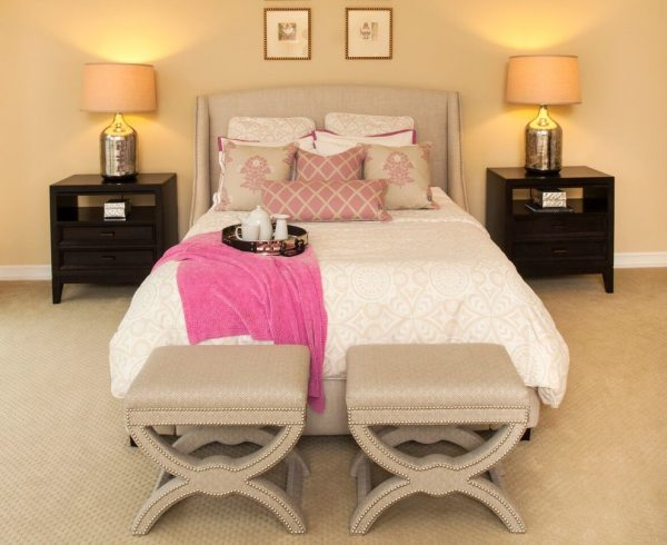 bedroom decorating ideas and designs Remodels Photos Melanie King Designs The Woodlands Texas United States modern-bedroom-001