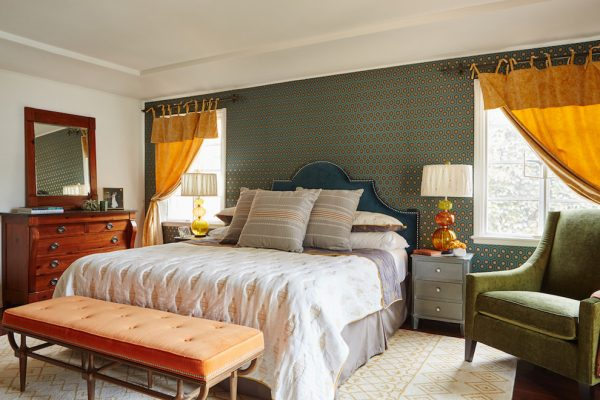 bedroom decorating ideas and designs Remodels Photos Mend Ojai California United States eclectic-bedroom