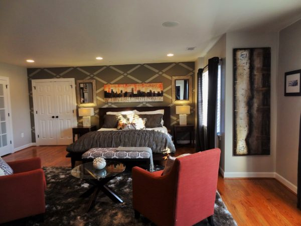 bedroom decorating ideas and designs Remodels Photos Mint Decor Inc. Miami Florida United States contemporary-bedroom-002