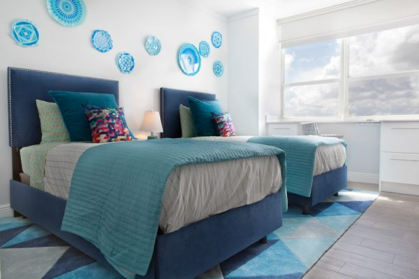 bedroom decorating ideas and designs Remodels Photos Mint Decor Inc. Miami Florida United States eclectic-002