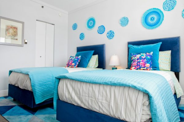 bedroom decorating ideas and designs Remodels Photos Mint Decor Inc. Miami Florida United States eclectic