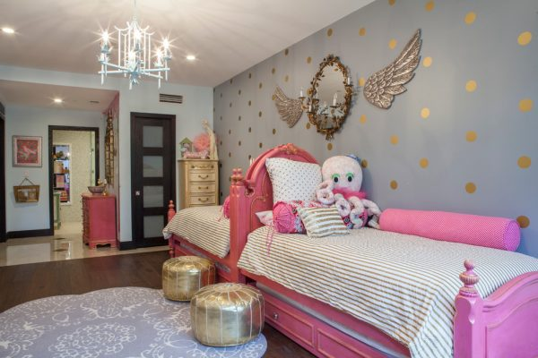 bedroom decorating ideas and designs Remodels Photos Mint Decor Inc. Miami Florida United States kids