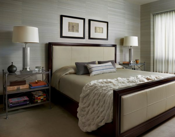 bedroom decorating ideas and designs Remodels Photos Mitchell Channon Design Chicago Illinois United States contemporary-bedroom-001
